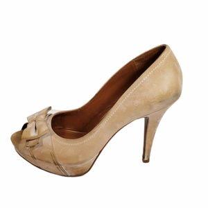 Distressed  704b Pumps Heels Shoes 38.5